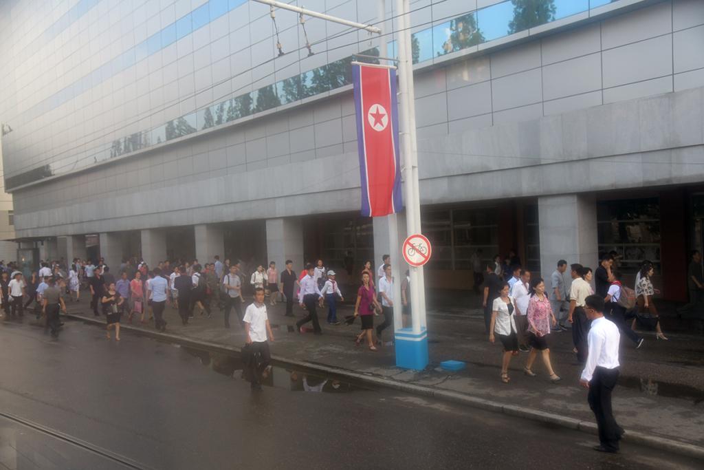 北朝鮮の通勤時間